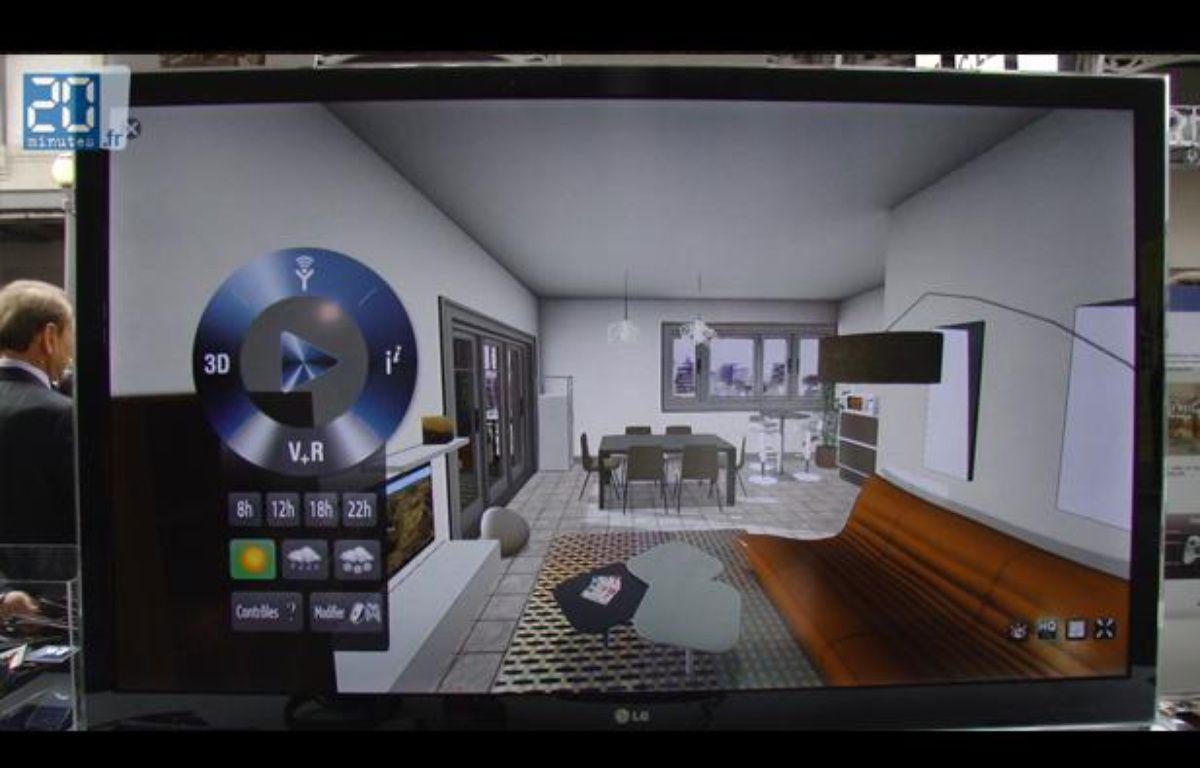 Visite d'un appartement en 3D sur le Web – Jonathan Duron / 20 Minutes