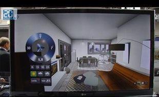 Visite d'un appartement en 3D sur le Web