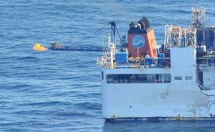 La première extraction de gaz issu d'hydrates de méthane a eu lieu au Japon, le 12 mars 2013.