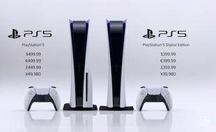PS5: lancement prévu le 19 novembre, au prix de 399€