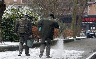 Plus d'une centaine de personnes ont chuté à cause du verglas à Lille.