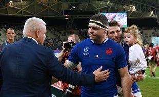 Guilhem Guirado a vécu son dernier match avec l'équipe de France contre le Pays de Galles.