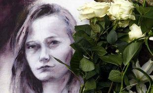 Un portrait d'Agnès, au Chambon-sur-Lignon, le 20 novembre 2011.