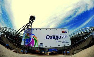 Le stade de Daegu le 29 août 2011.