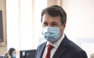 Le maire de Nice Christian Estrosi, le 30 avril 2021