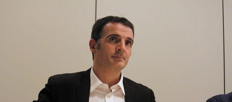 Eric Piolle, le maire de Grenoble, au siège de Grenoble Alpes-métropole, le 9 février 2017.