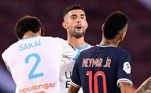 Alvaro Gonzalez lors de son altercation avec Neymar, au parc des Princes.