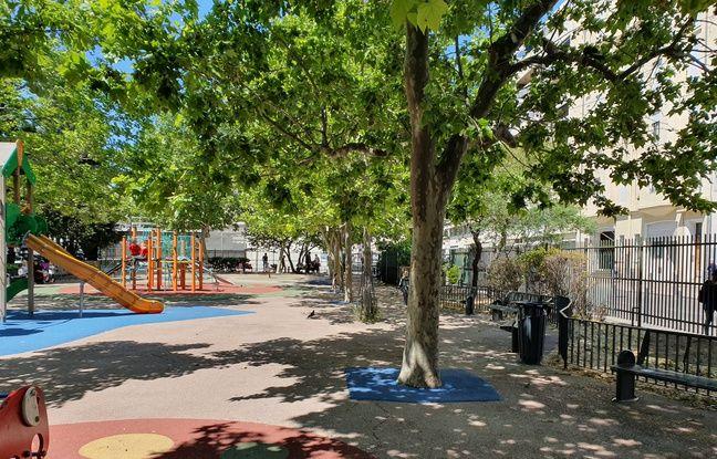 Le parc Fraissinet est situé à deux pas du lieu choisi.