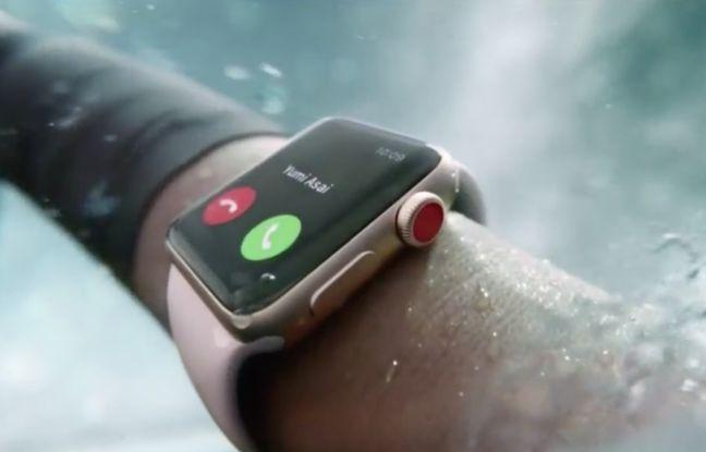 L'Apple Watch Series 3 intègre sa propre SIM cellulaire.