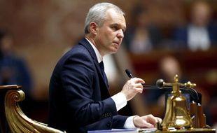 Le président de l'Assemblée nationale François de Rugy