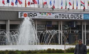 Foire de Toulouse au Parc des Expositions. Public.Parking.