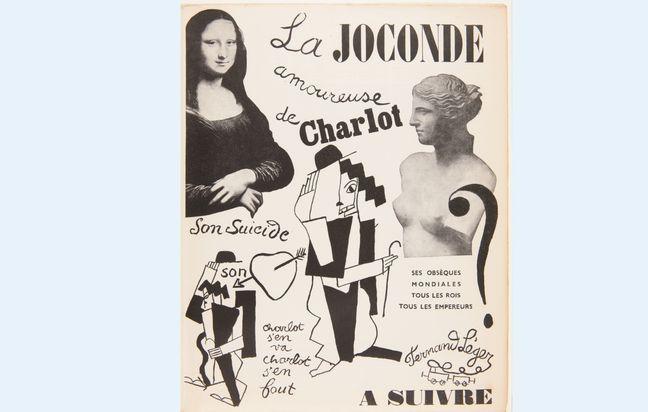 «La Joconde amoureuse de Charlot».