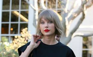 La chanteuse Taylor Swift à Los Angeles.