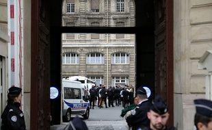 La préfecture de police de Paris, vendredi 4 octobre 2019.