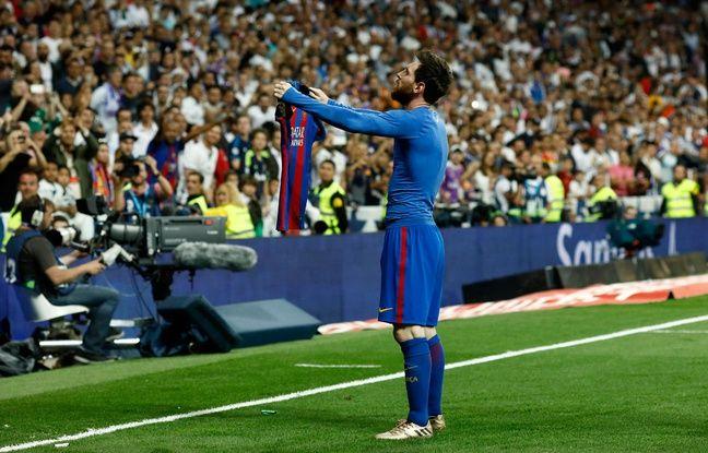 Lionel Messi face au Real