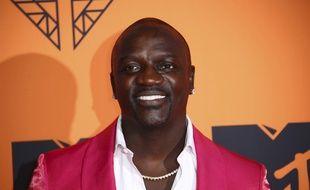 Le chanteur Akon, en 2019