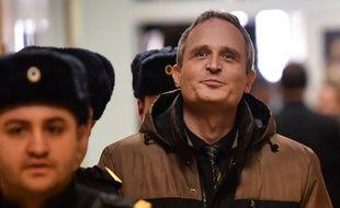 Dennis Christensen s'apprête à entendre le verdict, le 6 février 2019 en Russie.