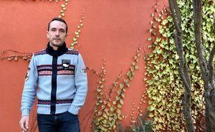 Directeur de réception pour un traiteur, Baudoin Desplanque-Lussert a été contraint de vendre sa maison pour des raisons économiques.