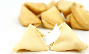 Des «fortune cookies» chinois, ou biscuits de la chance (illustration).