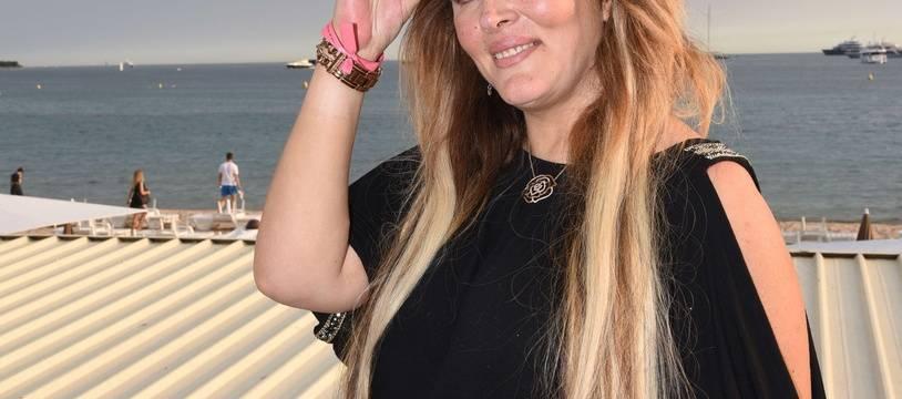 Loana à Cannes en 2016