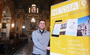Le père Frederic Sanges développe l'application Nessia qui recense le patrimoine religieux des Alpes-Maritimes.