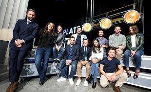 Yann Barthès et l'équipe de