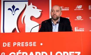 Gérard Lopez, le nouveau patron du Losc