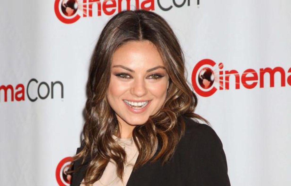 Mila Kunis au CinemaCon, le 24avril 2012. – JE1/WENN.COM/SIPA