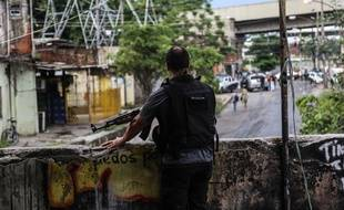 Opération de police dans la favela de Jacarezinho en janvier 2018 (image d'illustration).