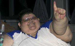 Le mexicain Juan Pedro Franco Salas pèse 500 kg.