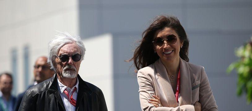 Bernie Ecclestone et sa femme Fabiana Flosi attendent un enfant, le 4e pour l'ex-grand argentier de la F1 âgé de 89 ans.