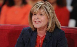 Katherine Pancol dans «Vivement dimanche» sur France 2 en avril 2014.