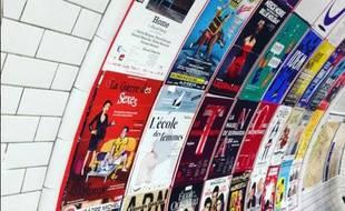 Les affiches de théâtre se reconnaissent au premier coup d'oeil