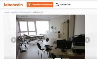 La commune de Seppois-le-Bas espère trouver des médecins via Le Bon Coin