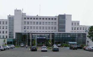 Le centre hospitalier Lucien-Hussel à Vienne (Isère)
