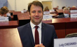 Le président sortant Loïg Chesnais-Girard a été élu président de la région Bretagne le 2 juillet 2021 à Rennes.
