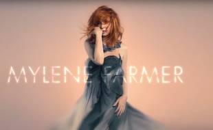 Capture d'écran du spot promotionnel du dixième album studio de Mylène Farmer, «Interstellaires».