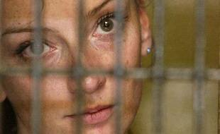 Florence Cassez après son arrestation au Mexique, le 9 décembre 2005.