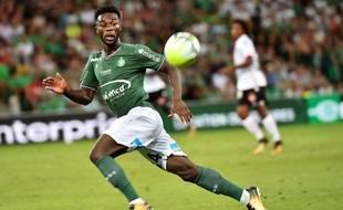 Jonathan Bamba a inscrit quatre buts cette saison sous le maillot vert, dont celui de la victoire (1-0), le 5 août en ouvertureface à Nice.