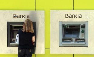 La banque espagnole Bankia avait été une des plus durement touchées par l'éclatement d'une bulle immobilière en 2008, qui a plongé l'Espagne dans une crise de six ans.