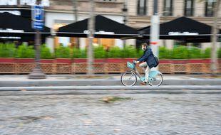 Un Vélib' à assistance électrique à Paris