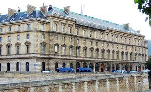 Le 36, quai des Orfèvres à Paris, siège de la police judiciaire.