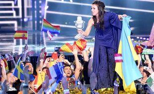 Jamala a remporté l'Eurovision pour l'Ukraine, le 14 mai 2016.