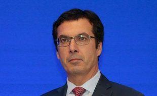 Jean-Pierre Farandou, actuel président de Keolis, le 19 octobre 2015 à Paris