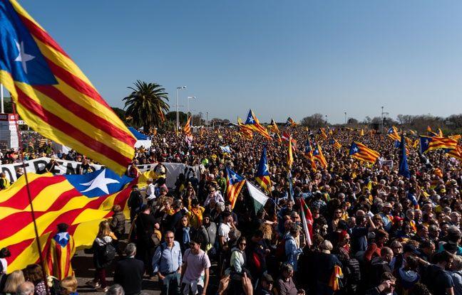 Au moins 100.000 personnes au meeting de Carles Puigdemont à Perpignan