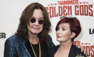 Ozzy Osbourne et son épouse Sharon Osbourne.