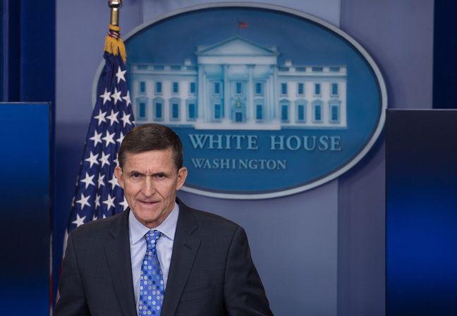L'ex-conseiller de Donald Trump à la sécurité nationale, Michael Flynn.