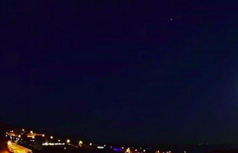 Côte d'Azur: Une impressionnante météorite aperçue dans le ciel