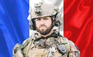 Portrait de Maxime Blasco, soldat français mort au Mali le 24 septembre 2021.