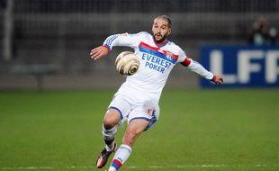 Lisandro Lopez lors du quart de finale de Coupe de la Ligue entre Lyon et Lille, le 11 janvier 2012.